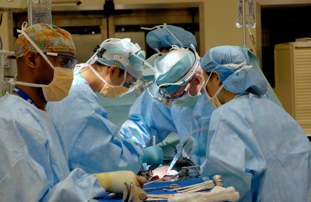 BHSF staff sewing scrubs for NHS heroes